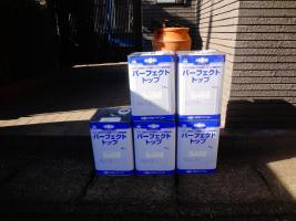 茨城県龍ヶ崎市K様邸の外壁塗装と屋根塗装工程:使用材料2