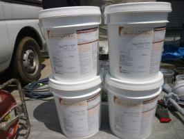 千葉県柏市I様邸の外壁塗装と屋根塗装工程:使用材料4